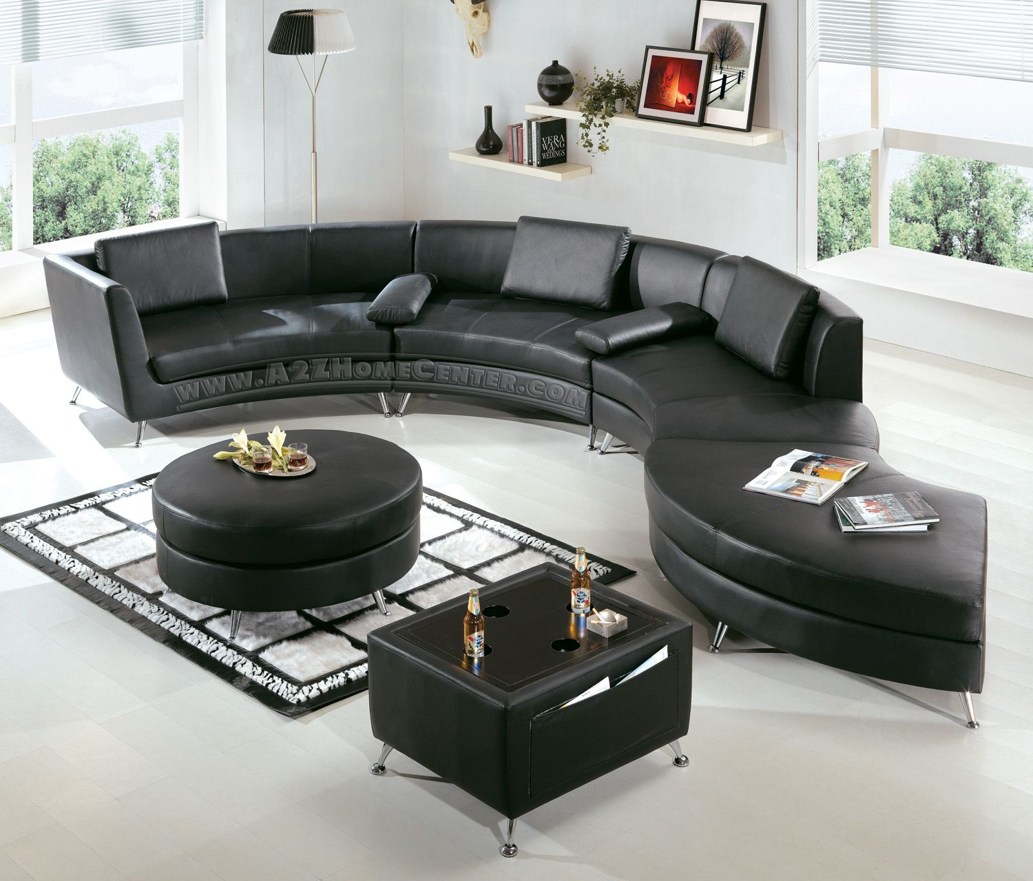 Buying modern contemporary furniture online allows you to visit a number of within a limited period of time. This also indicates that you get the desired furniture pieces without having to move out of your home.