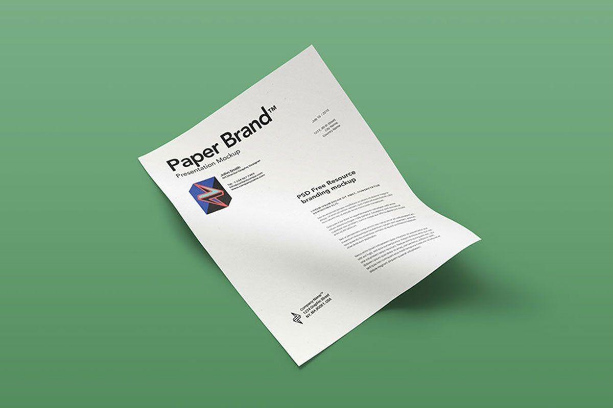 40 Best Letterhead Mockups To Improve Brand Identity Colorlib Letterhead Template Letterhead Template Word Branding Identity Mockup
