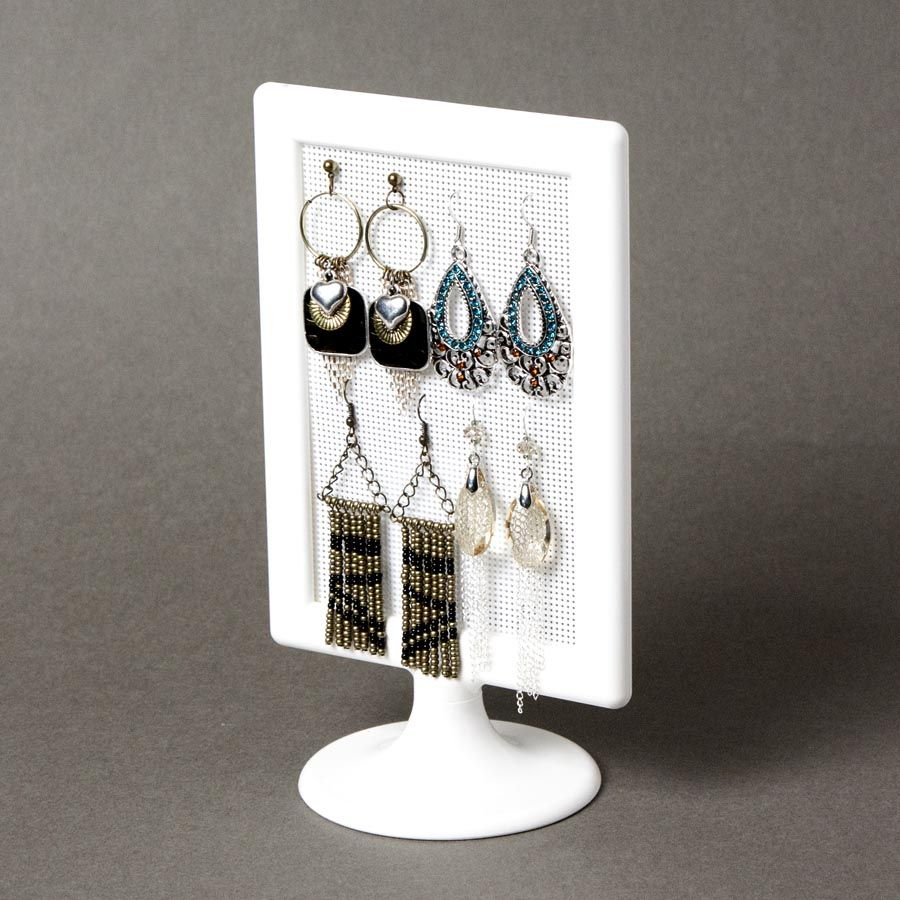 Diy Jewelry Holder Blog Cousin Corporation Diy Table Top Earring Holder The Frame