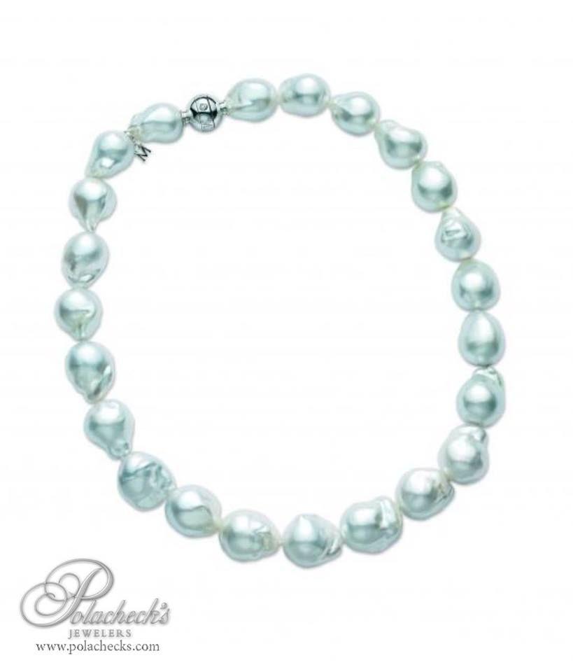 Baroque South Sea Pearl Necklace #Polachecks #Jewelers #Necklace #Calabasas
