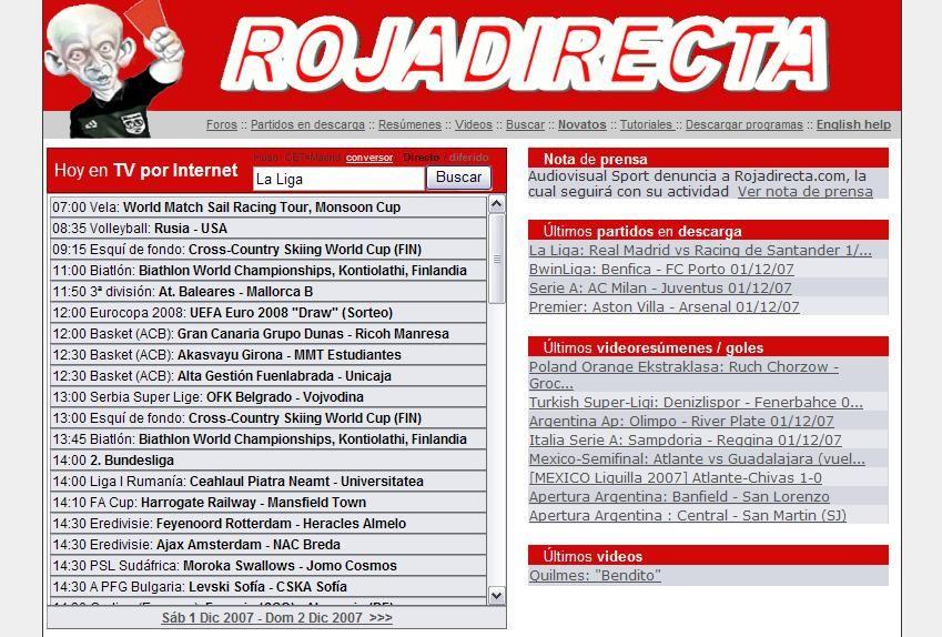 Rojadirecta Futbol Gratis Online Futbol Gratis Futbol En Vivo Ver Futbol