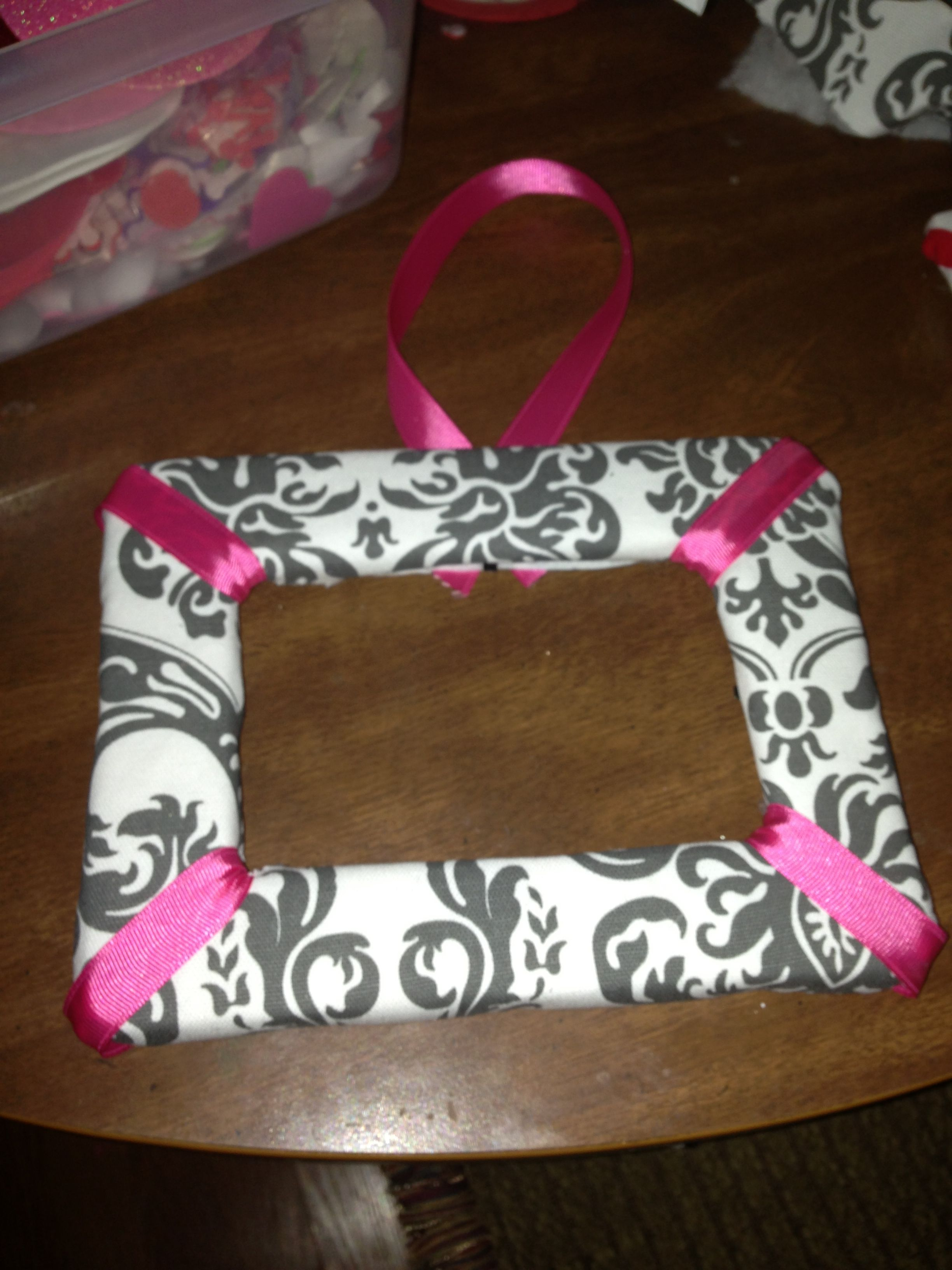 Fabric covered frame