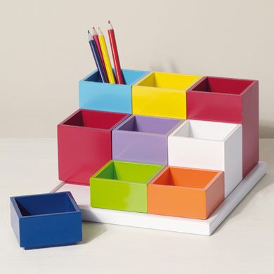 Manhattan Desk Tidy Desk Accessories Home School Dream - Childrens desk accessories