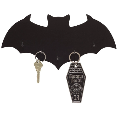 Sourpuss Bat Key Holder Gothic Punk Homewares Decor Vintage Horror Retro