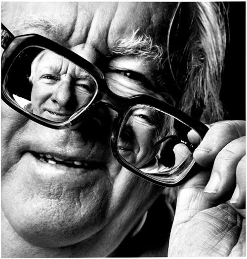 Ray Bradbury, by Michel Fainsilber