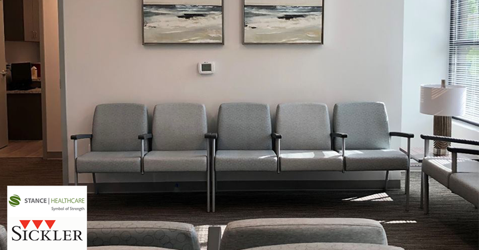 Vista II Metal Seating Collection Healthcare furniture