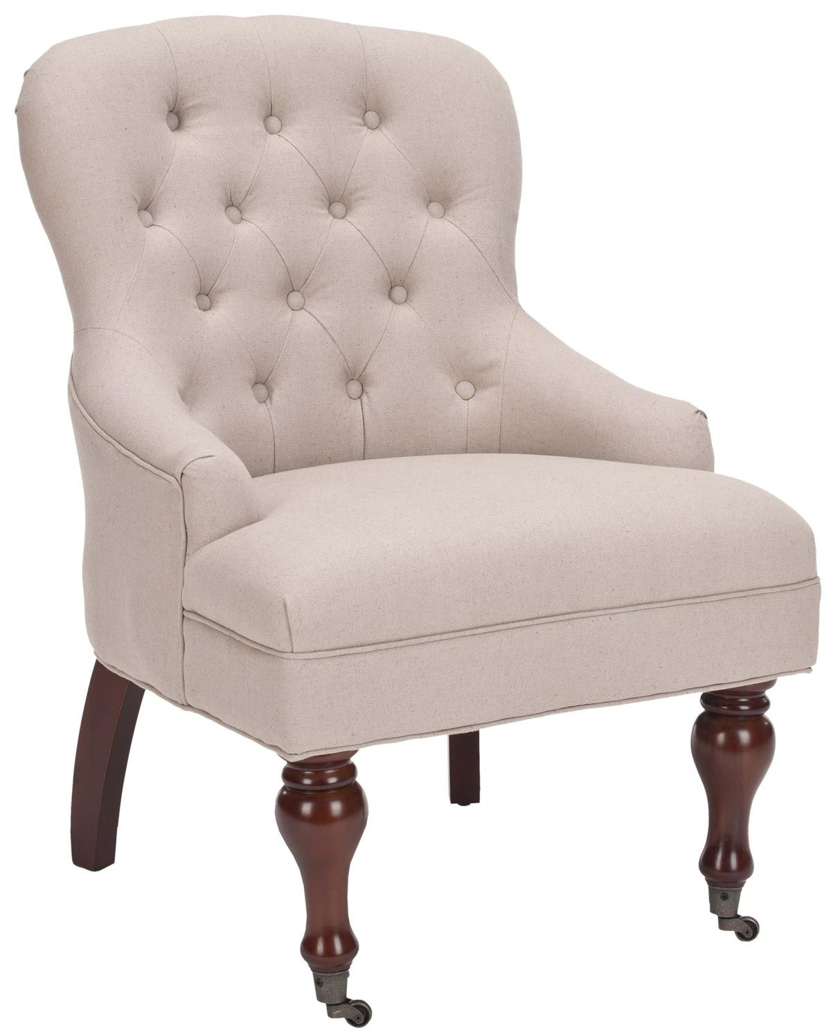 Cheap Accent Chairs Canada Safavieh Tufted Accent Chair Taupe Poltronas Pinterest