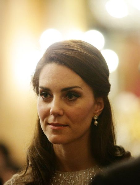 Kate Middleton Photos Photos - Catherine, Duchess of Cambridge attends a reception to mark the launch of the UK-India Year of Culture 2017 on February 27, 2017 in London, England. - The Queen Launches 2017 India Year Of Culture
