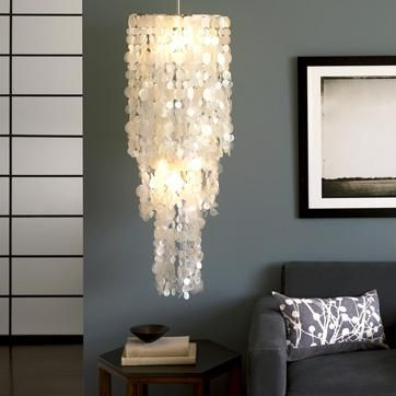 Capiz Chandeliers Are An Essential Part Of The Decor In Philippine Homes.  We Had An · Capiz Shell ChandelierPendant LampsShell ...
