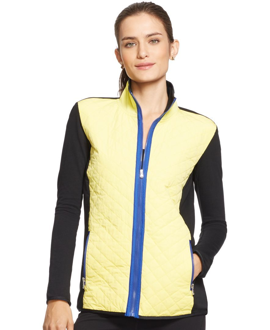 Lauren Ralph Lauren Quilted Running Jacket, Only at Macy's