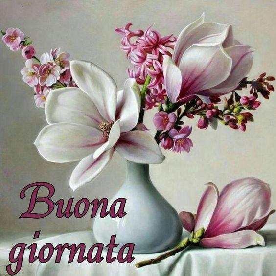Buon Giorno baci cuori e fiori ~ Il Magico Mondo dei Sogni ...