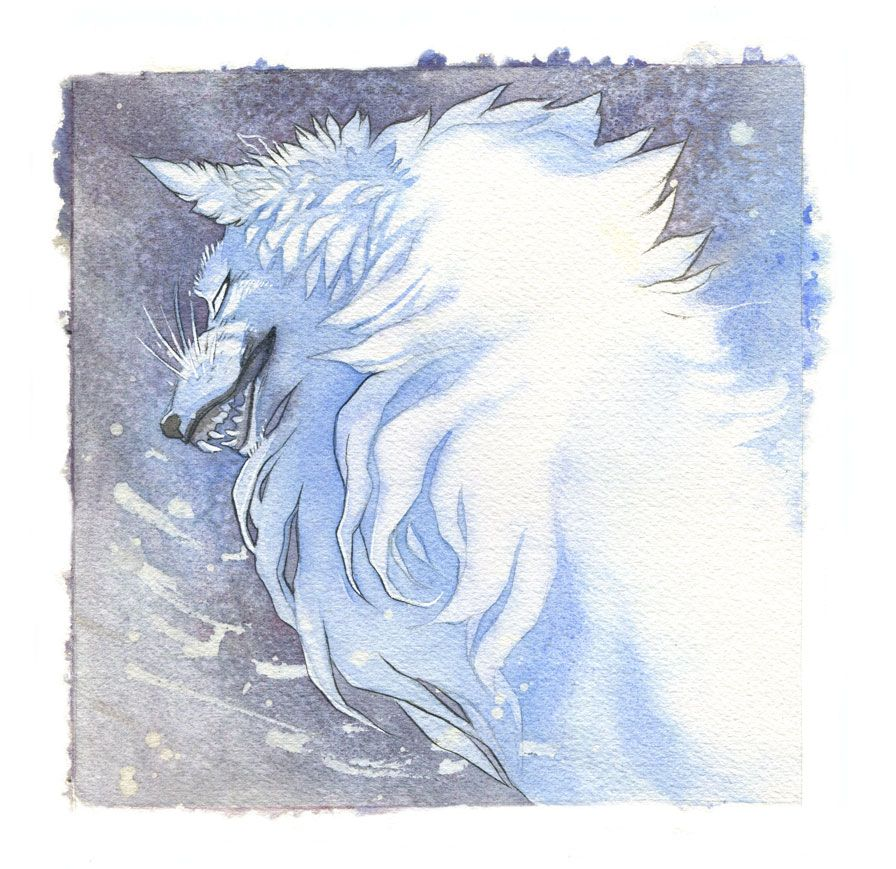 Flurry Wolf by blix-it.deviantart.com on @DeviantArt