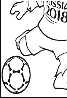 mascote zabivaka copa mundial 2018 atividades copa pinterest fifa