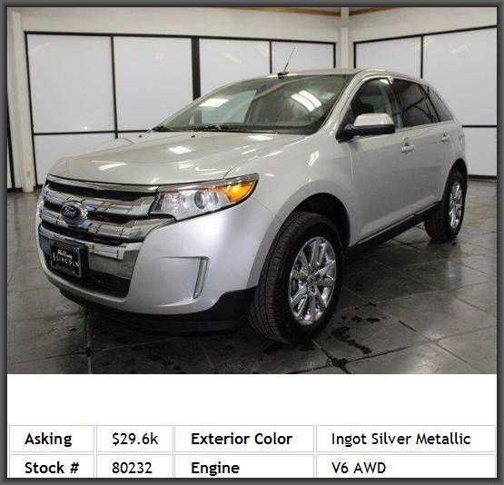 Ford Edge Limited Suv Tires Rear All Season Chrome Wheels Telematics