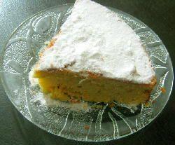 Torta ilusión de naranja