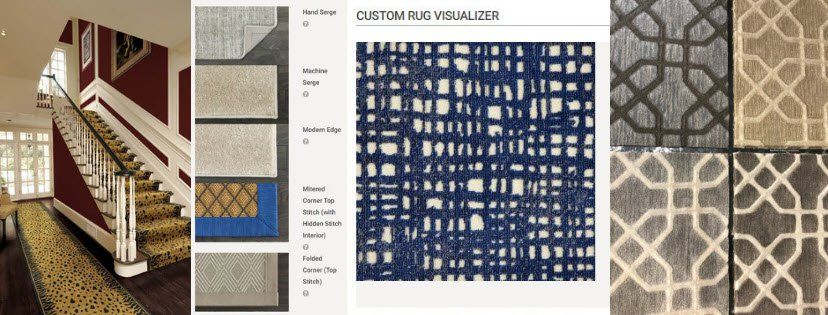 Create Your Own Rug Using Stanton Carpet S Custom Rug Visualizer Custom Rugs Stanton Carpet Rugs