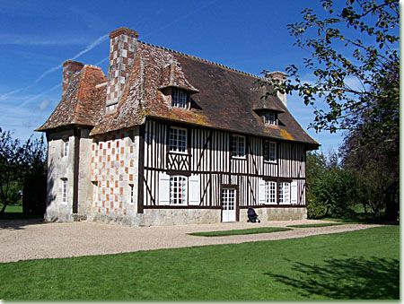 Manoir normand calvados normandie pinterest maison for Restauration maison normande