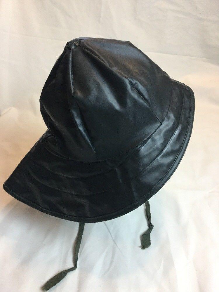 af904014dbfa5 Helly Hansen Workwear Sou wester Waterproof Portugal Rain Hat -size 57-58  Green  HellyHansen