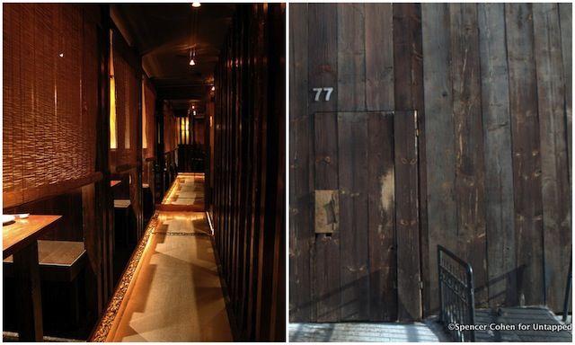 Zenkichi Hidden Japanese Restaurant Williamsburg Brooklyn Nyc
