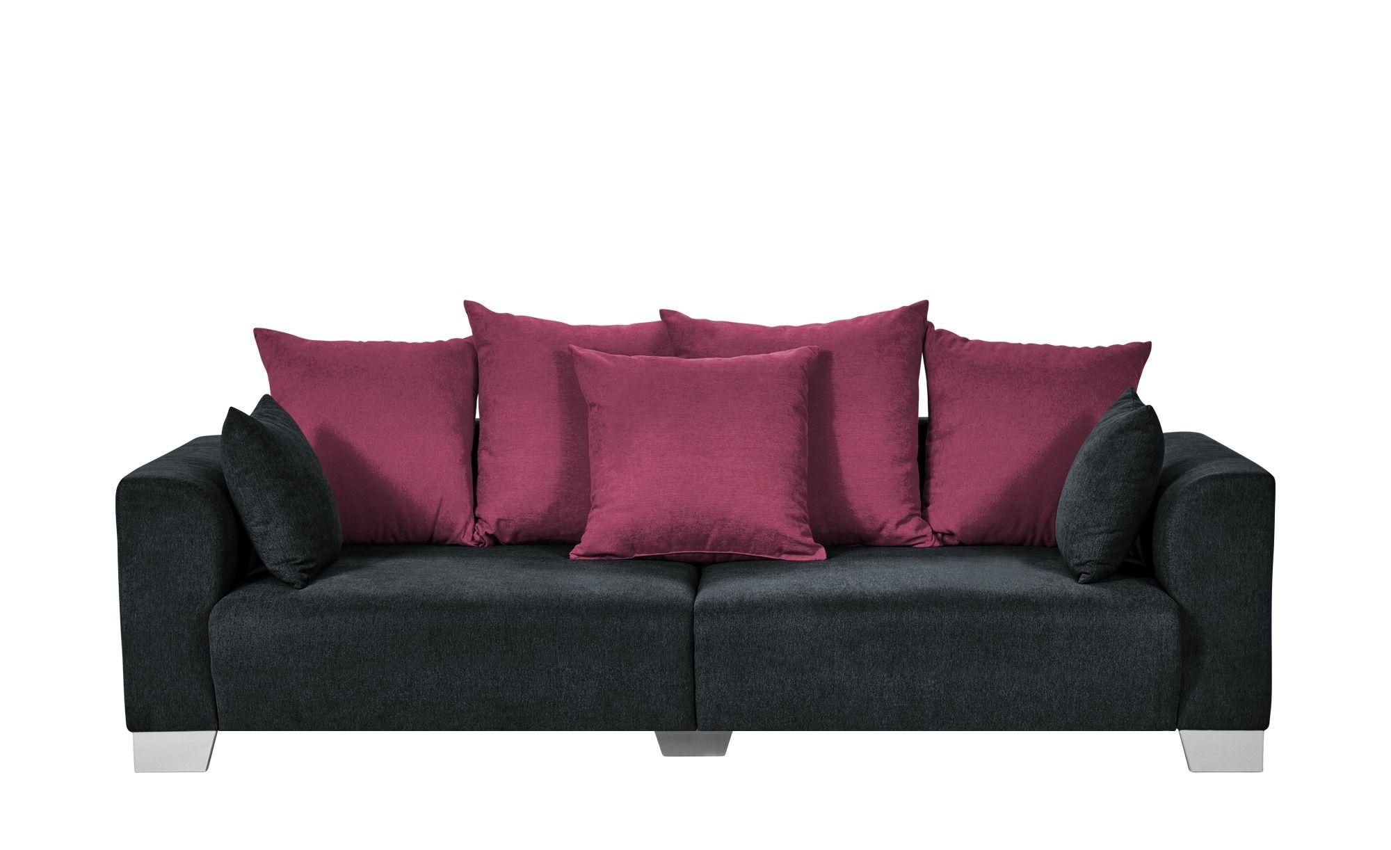 Smart Big Sofa Schwarz Webstoff Tonja Schwarz Masse Cm B 244 H 68 T 107 Polstermobel Sofas Big Sofas Big Sofa Kaufen Sofa Leder Schwarzes Sofa