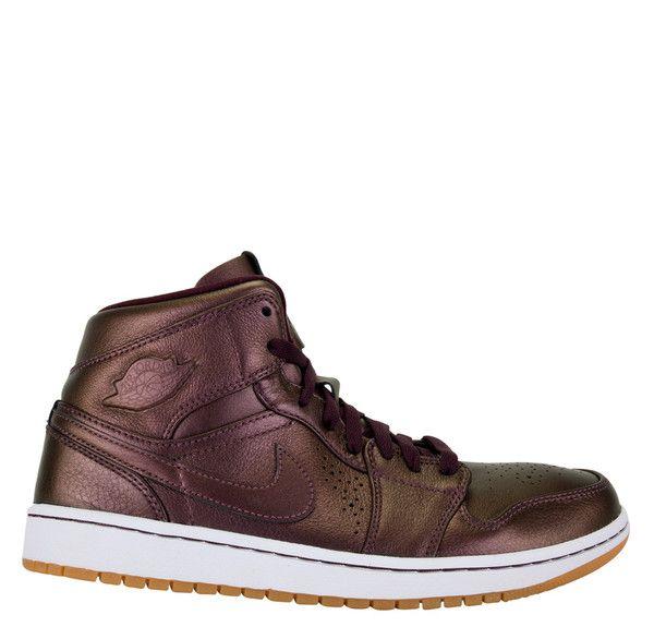 0518c34dd84 Air Jordan 1 Mid Nouveau Deep Burgundy White Gum | Men's Kicks | Air ...
