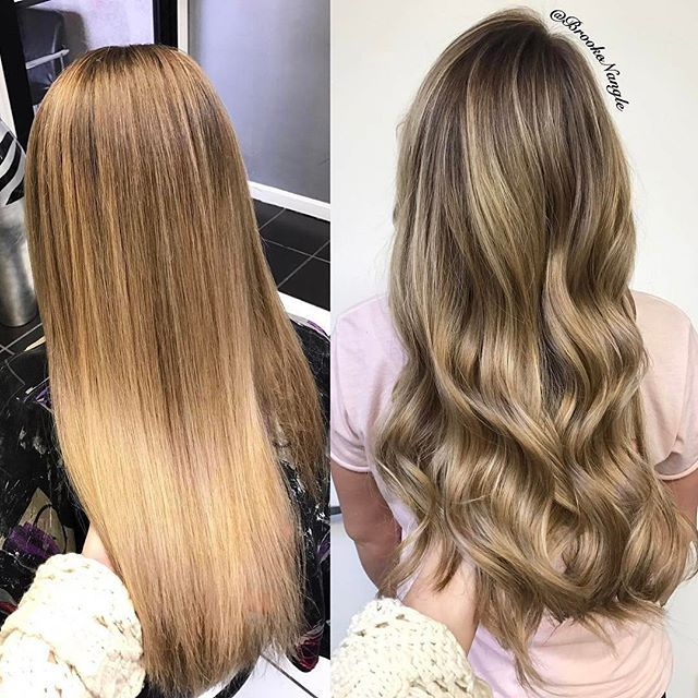 Straight or Curled? You decide, comment below ⤵️⤵️⤵️ @hairbybrookenangle