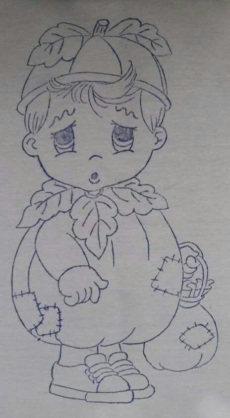 Dibujos Riscos Para Pintura Desenhos E Pintura Em Tecido Bonecas