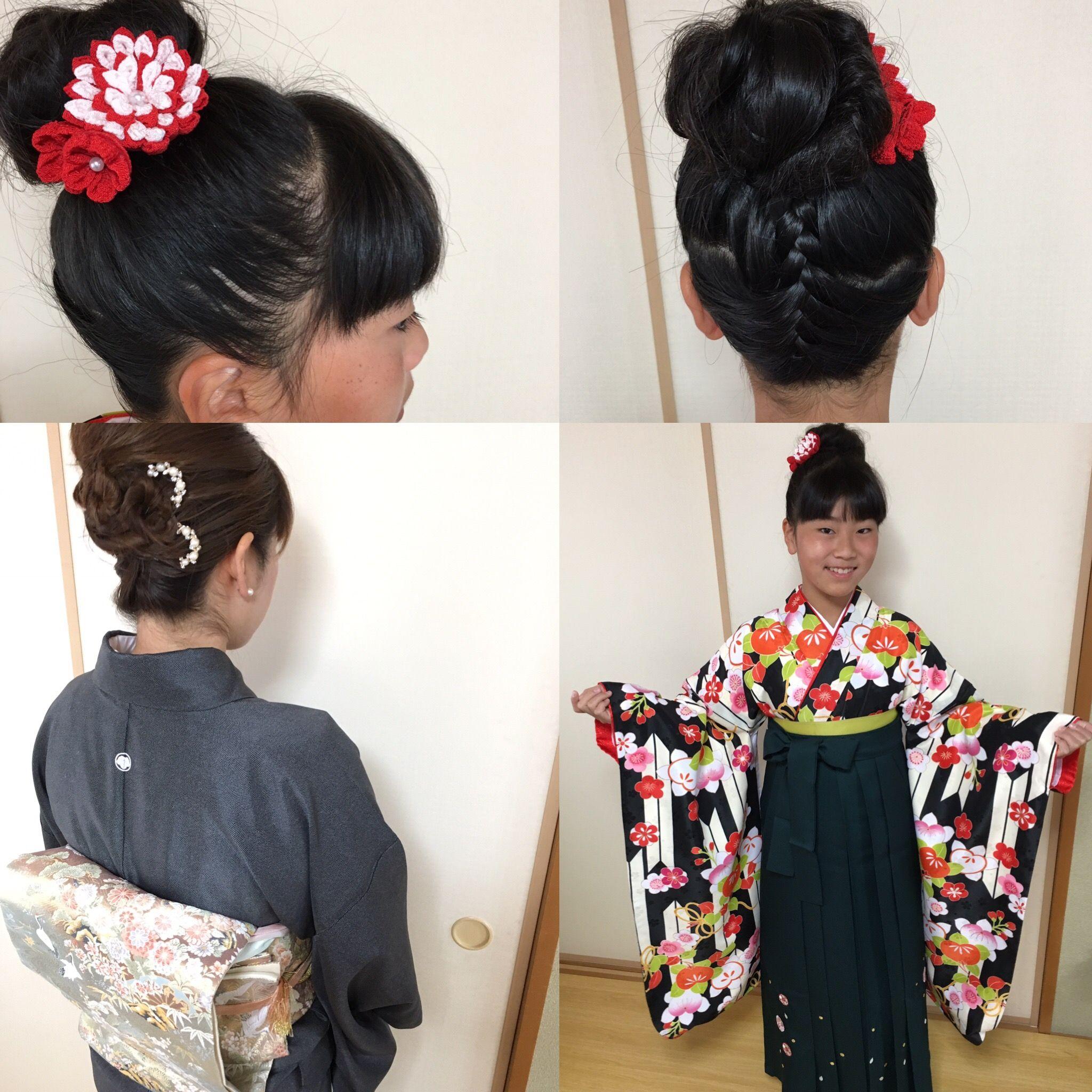 写真 髪型 卒業 小学生 式