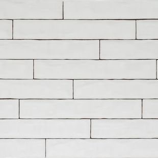 Handmade Natura Gloss White Long Subway Tiles 396 65