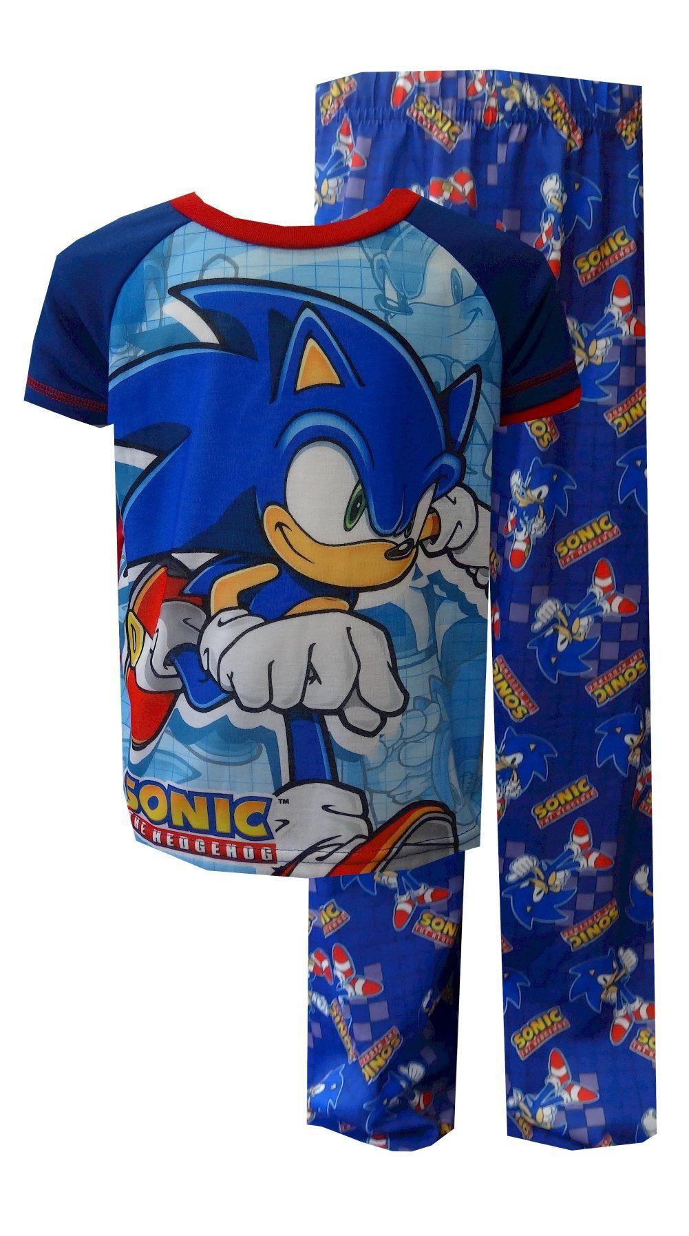 Sonic The Hedgehog On The Run Pajamas Sonic Costume Sonic Sonic Birthday