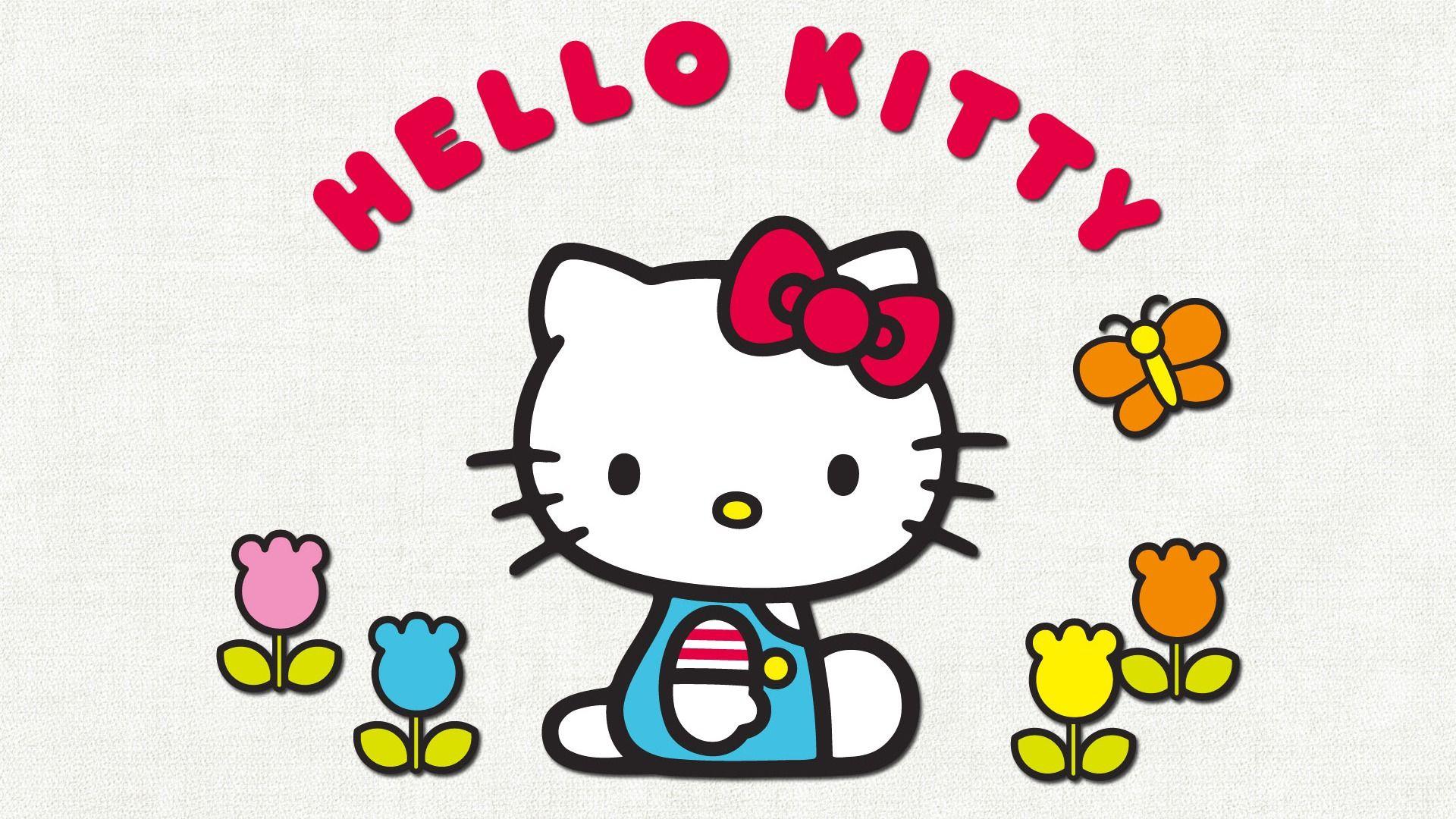 Cute Hello Kitty Desktop Wallpaper Tulips Cute Wallpapers Hello Kitty Backgrounds Hello Kitty Images Hello Kitty