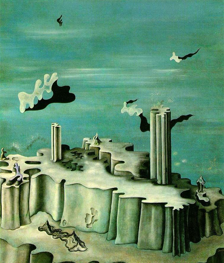 Yves Tanguy Neither Legends Nor Shapes 1930 Surréalisme