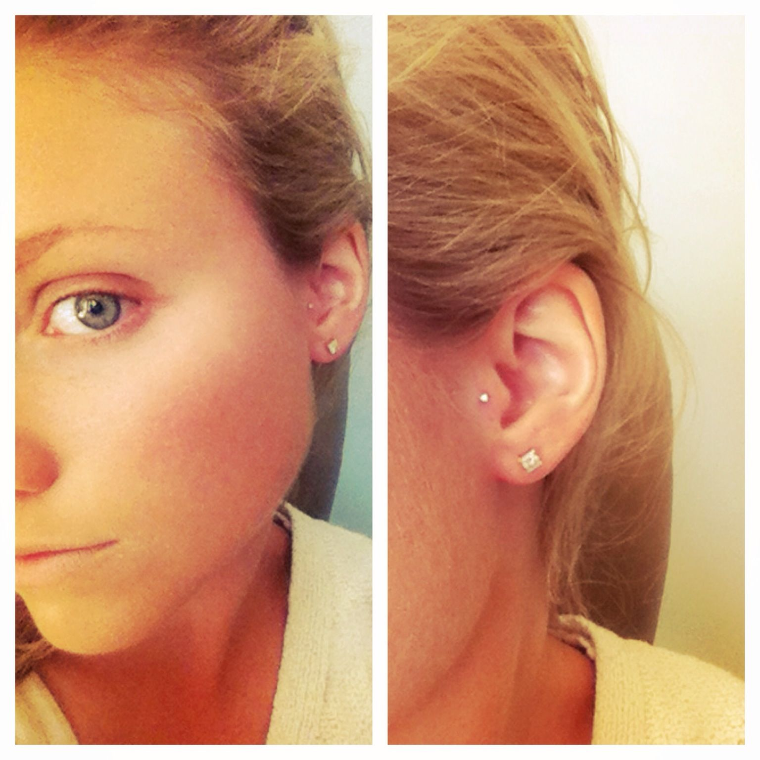 Piercing your nose  I want my ear pierced like this  Piercings  Pinterest  Make me