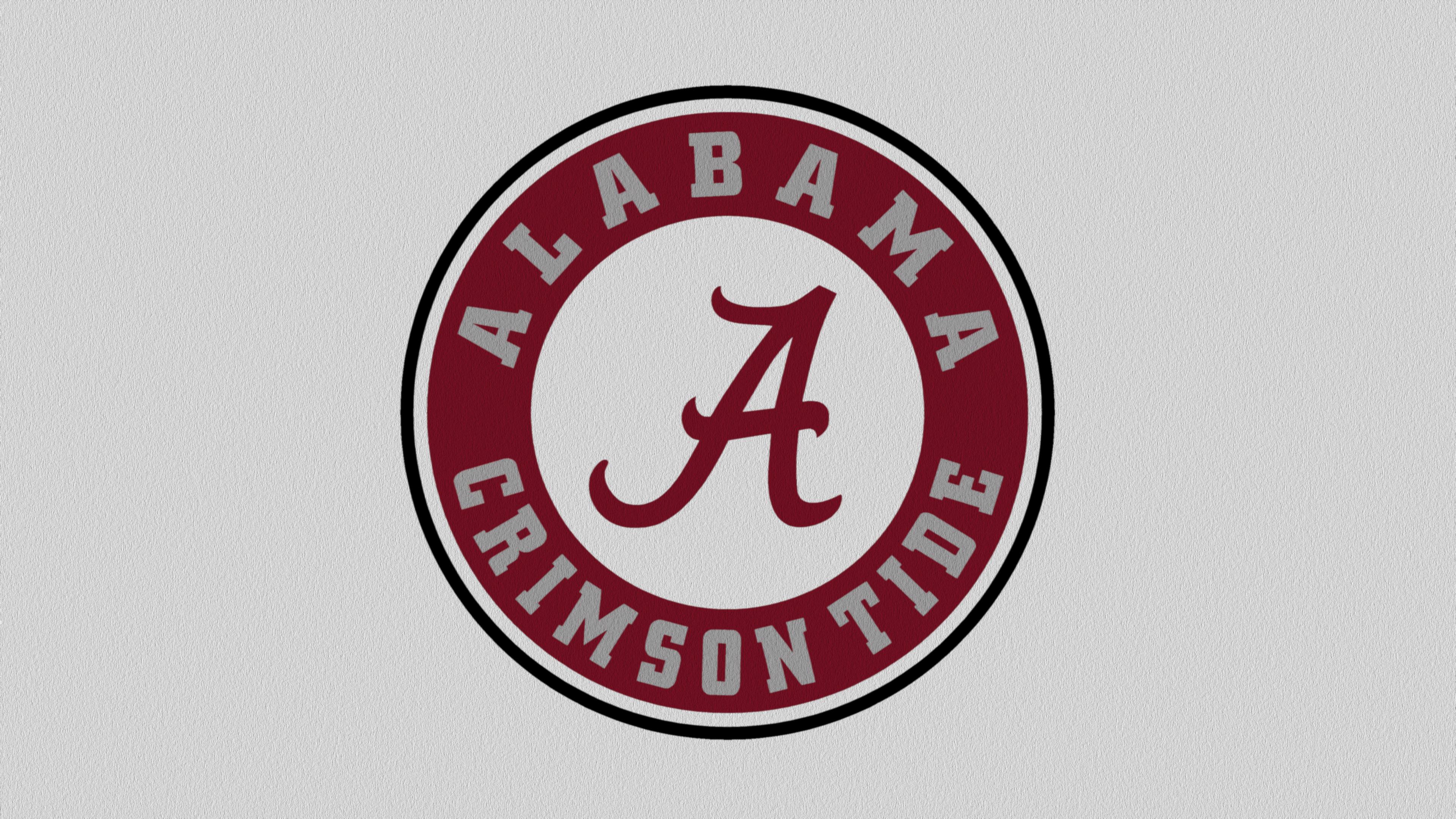 Texture White Alabama Football Retail Logos Desktop Wallpaper