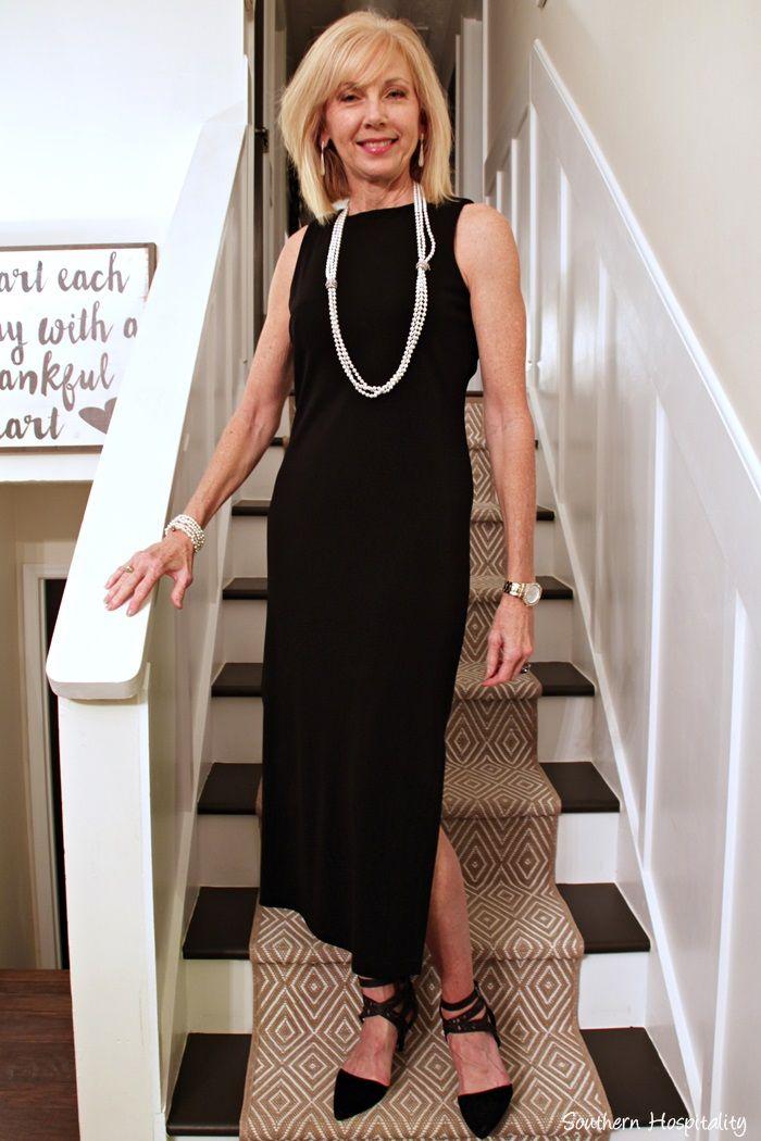 63e1513029f Little black dress over 50
