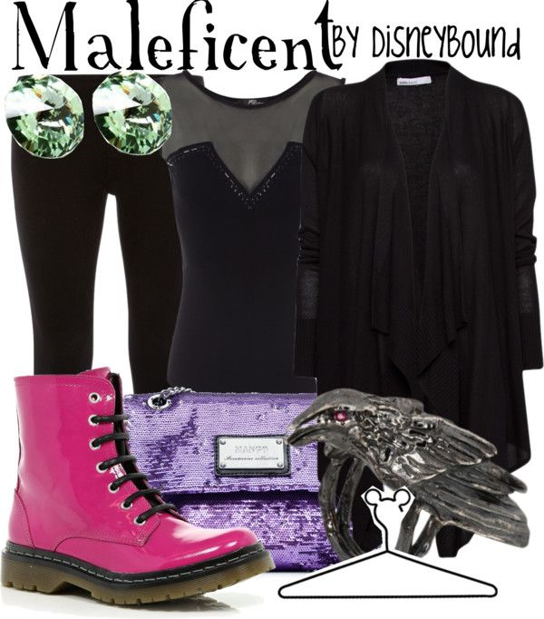 """""""Maleficent"""" by lalakay ❤ liked on Polyvore"""