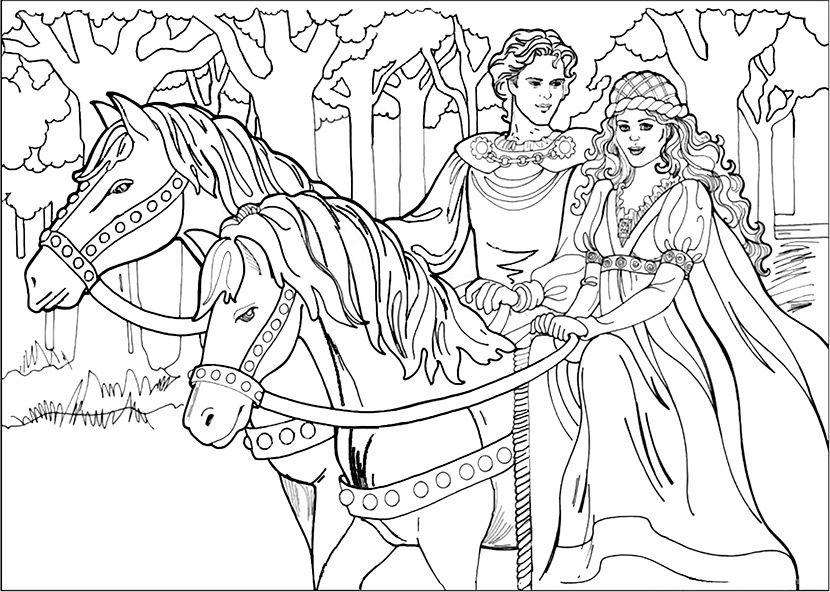 ausmalbilder pferde 9 | ausmalbildkostenlos.com | Pinterest ...