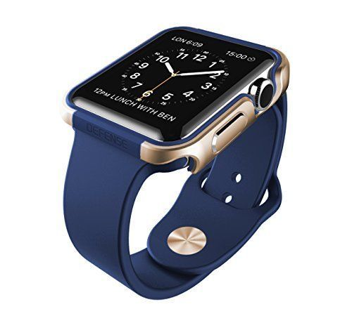 951eff4138f GOLD-amp-MIDNIGHT-BLUE-Cover-Protector-Case-Bumper-For-iWatch -42MM-APPLE-WATCH-1