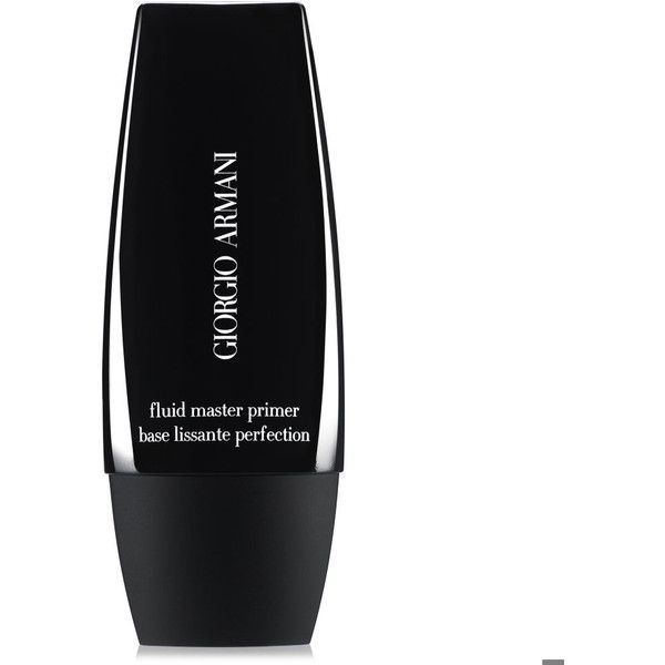 Giorgio Armani Fluid Master Primer (€52) ❤ liked on Polyvore featuring beauty products, makeup, face makeup, makeup primer and giorgio armani