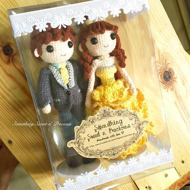 Crochet Wedding Gift Patterns: Wedding Couple ️ ️ ️ Wedding Gift #wedding #weddingdolls