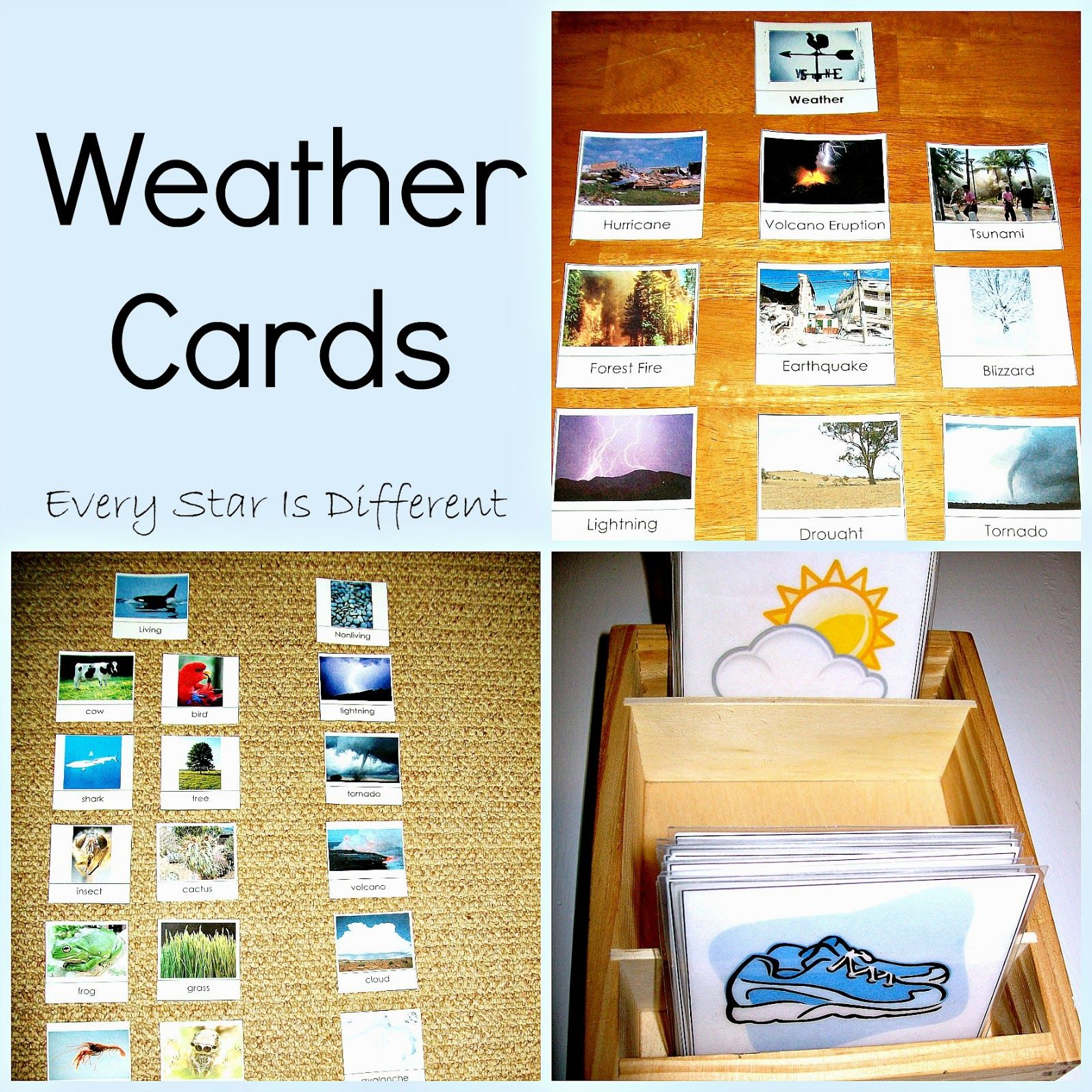 Every Star Is Different 75 Weather Activities Amp Free Printables Klp Linky Party