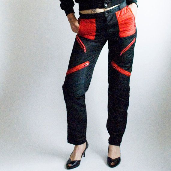 0e359a2ae25 Parachute pants!! I had a pair of black with red that I bought from the  store