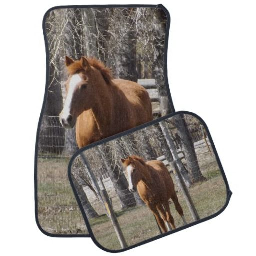 Chestnut Horse Car Mats Cars And Horses