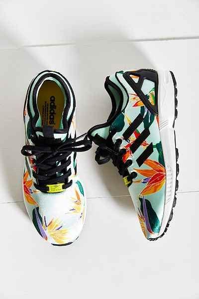 adidas Originals ZX Flux Tropical Running Sneaker | Sneakers