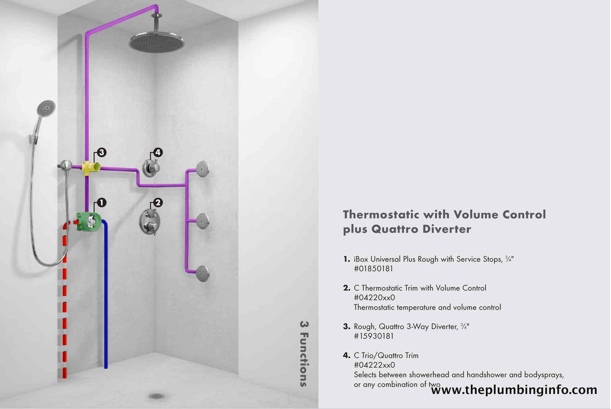 Image Result For Plumbing A Rain Shower Head Shower Plumbing Shower Heads Shower Installation