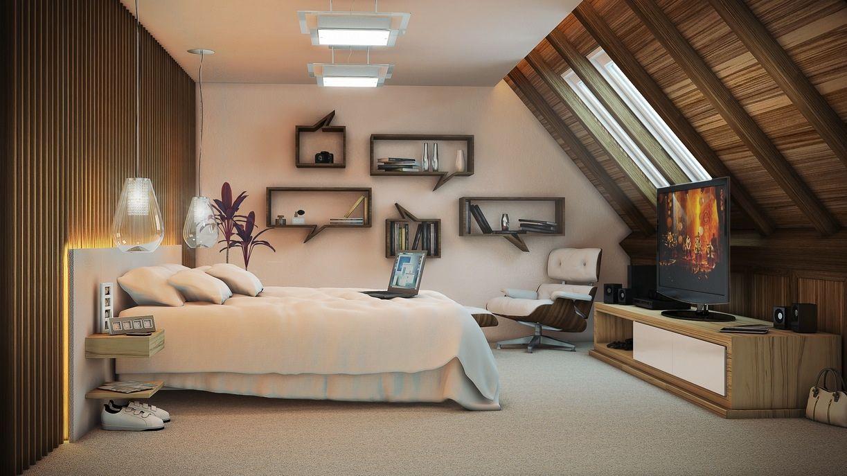 Artist Bedroom Atticinterior Design Ideas Bedroom Interior Stylish Bedroom Stylish Bedroom Design