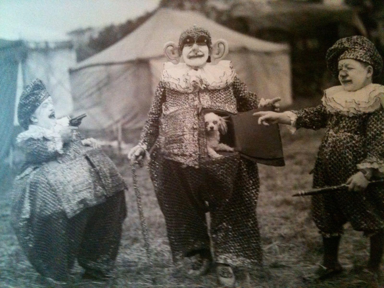 Circus Sideshow Freaks Vintage Photo Album
