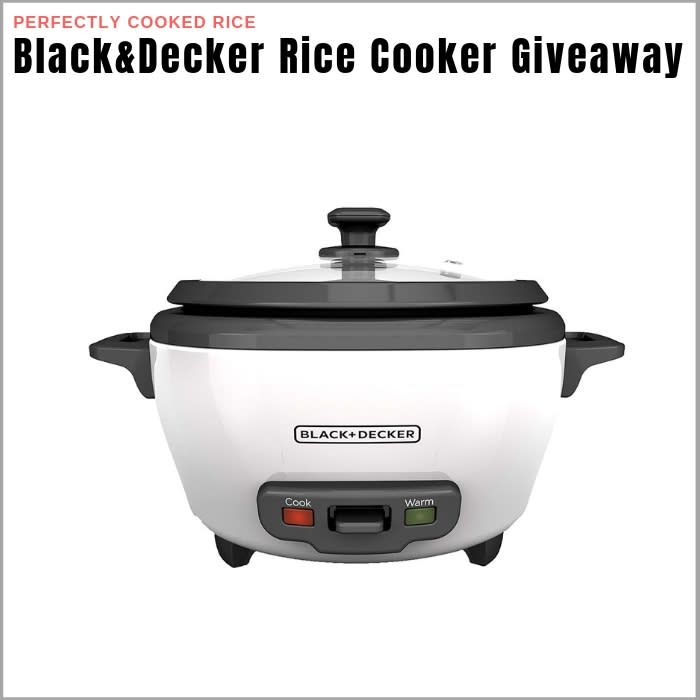 Black And Decker Rice Cooker And Food Steamer: A Solid ...