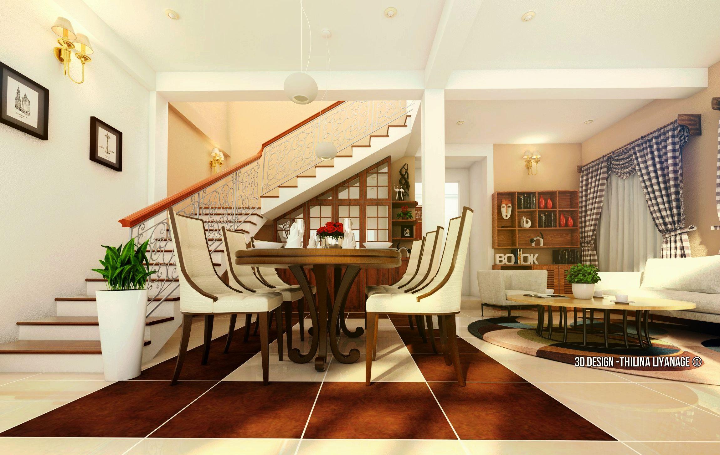 Interior Design For Old House Site At Seeduwa Sri Lanka 3d S