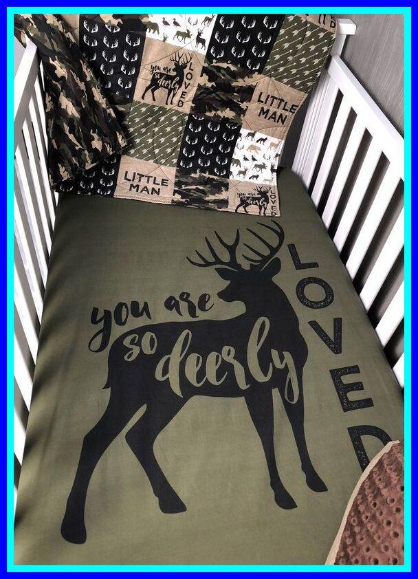 Amazing Boy Nursery: 94 Reference Of Baby Boy Crib Bedding Deer In 2020